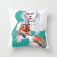 Gently Together Throw Pillow
