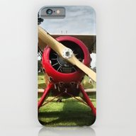 Red Plane iPhone 6 Slim Case