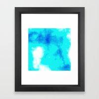 Turquoise Sky Framed Art Print