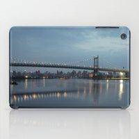 Triborough Bridge at Night. iPad Case