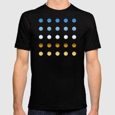 twentyfive dots o3 SMALL Black Mens Fitted Tee