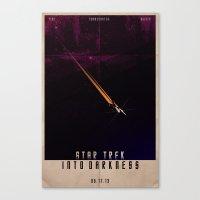 Star Trek - Into Darknes… Canvas Print