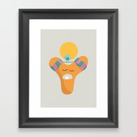 Letter Y Framed Art Print