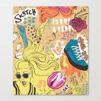 Pop Doodle Canvas Print