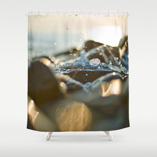 Glittering, shimmering ... Shower Curtain