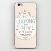 No Looking Back iPhone & iPod Skin