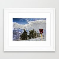 Windy Experts Only Framed Art Print