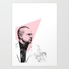 Lars Von Trier Art Print