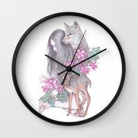 Forest Wanderer Wall Clock