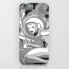 Space Girl with a Gun Slim Case iPhone 6s