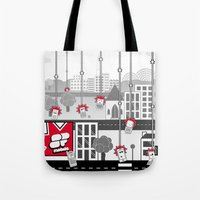 SF Mobile World Tote Bag