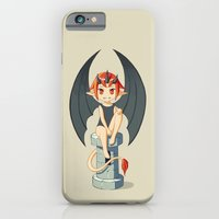 iPhone & iPod Case featuring Gargoyle by Freeminds
