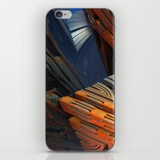 Between a Rock and a Hard Place iPhone & iPod Skin