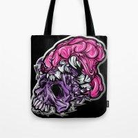 Skull CRUNCH ! Tote Bag