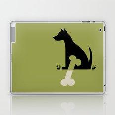 Gave a Dog a Bone (Green) Laptop & iPad Skin