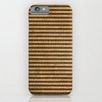 Striped Burlap iPhone 6 Slim Case