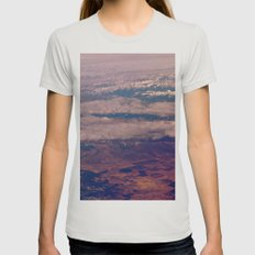 Above Womens Fitted Tee Silver SMALL