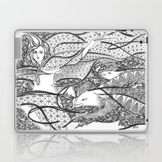 A Great Magician / Original A4 Illustration / Pen & Ink Laptop & iPad Skin