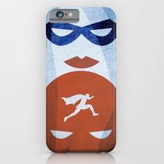 Nightly patrol Superheroes SF iPhone 6 Slim Case