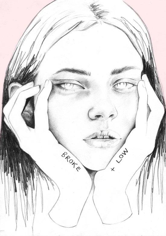 broke+low Art Print