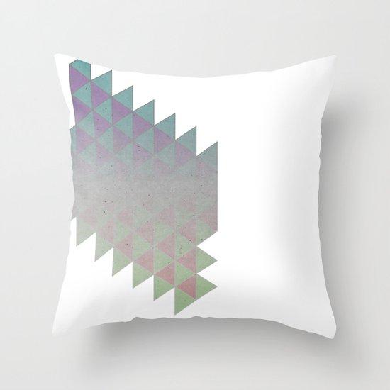 Tri Throw Pillow