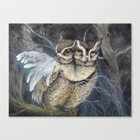 The Sleepless Night Canvas Print