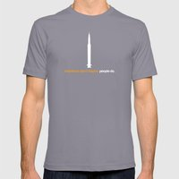 inspire Mens Fitted Tee Slate SMALL
