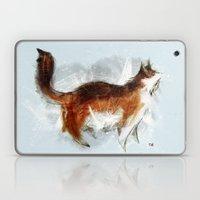 Calico Cat On Canvas Laptop & iPad Skin
