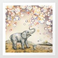Bubble Dreams Art Print