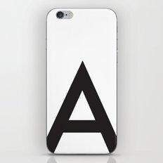 Uppercase a iPhone & iPod Skin