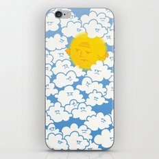 Cloud Control iPhone & iPod Skin