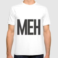 MEH Mens Fitted Tee White SMALL