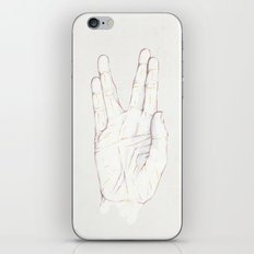 Live Long iPhone & iPod Skin