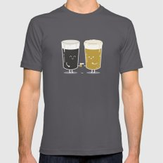 Cheers! Mens Fitted Tee Asphalt SMALL