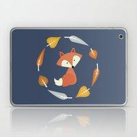 Autumn Fox Laptop & iPad Skin