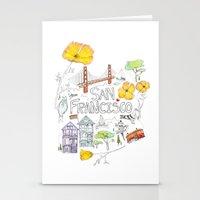 Friends + Neighbors : San Francisco Stationery Cards