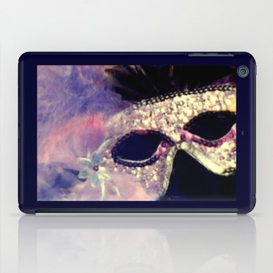 Mardi Gras Mask iPad Case