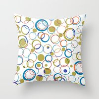 all round Throw Pillow
