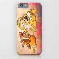 Easter Bunny Stealing An… iPhone 6 Slim Case