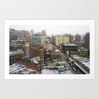 Chelsea, New York City Art Print