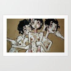 Incredulità Art Print