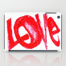 more love iPad Case