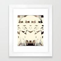 She's Remixed Framed Art Print