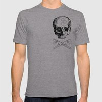 Gear Heads And Monkey Wr… Mens Fitted Tee Athletic Grey SMALL