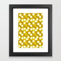 Daisy Mustard Framed Art Print