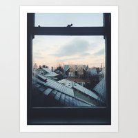 Crisp Mornings Art Print