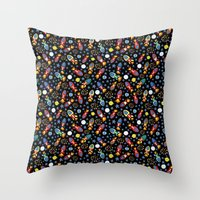 Rocket Rush Throw Pillow