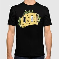 Taco Buddy Mens Fitted Tee Black SMALL