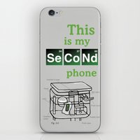 Second Phone iPhone & iPod Skin