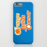 Orange Julius Caesar iPhone 6 Slim Case